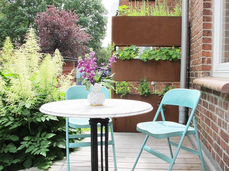 sichtschutz terrasse astrid pollastrid poll. Black Bedroom Furniture Sets. Home Design Ideas